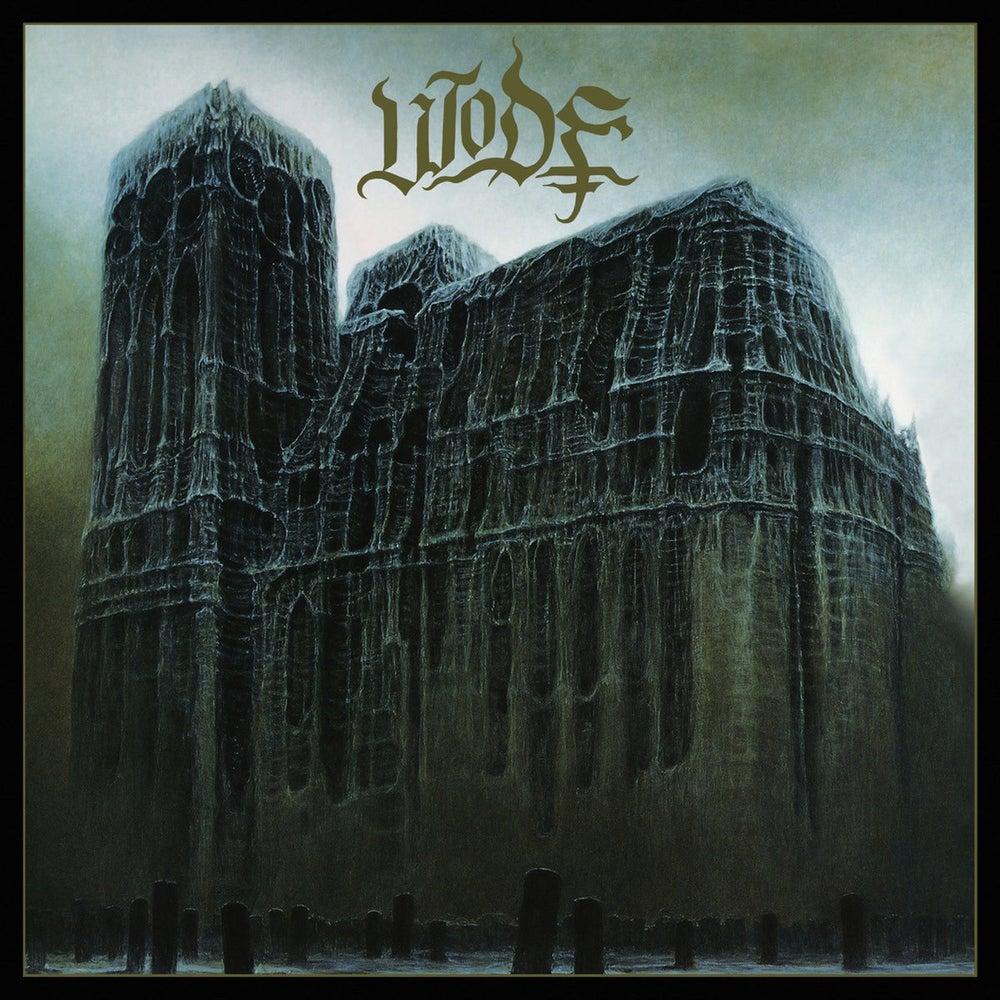 "Image of WODE ""s/t"" CD"
