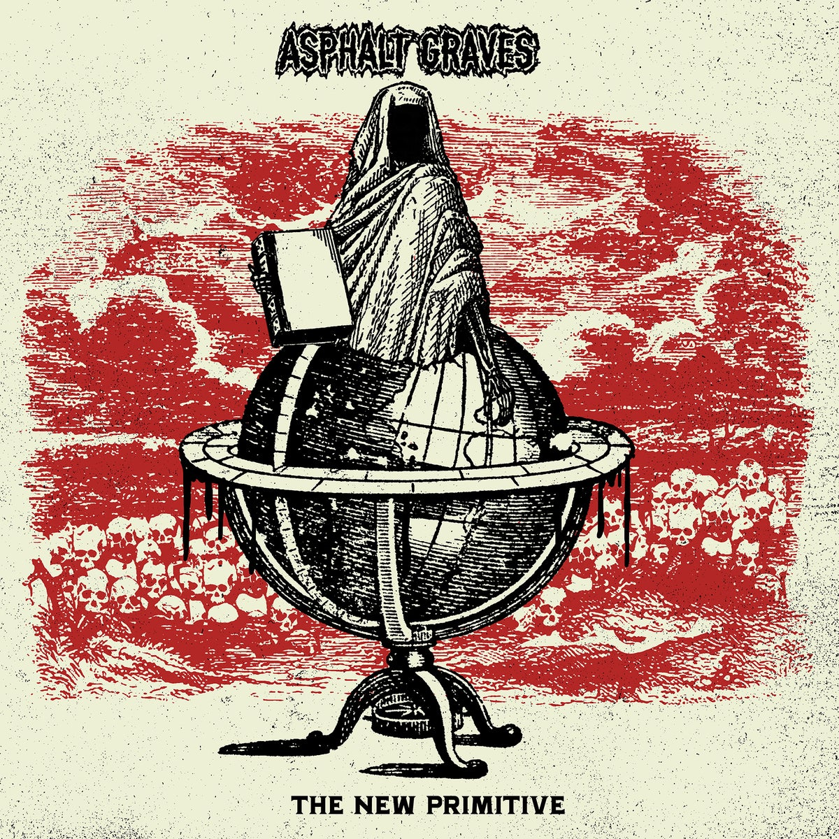 "Image of Asphalt Graves ""The New Primitive"" VIT046 CD"