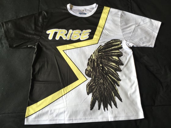 "Image of Tribe short sleev soccer jersey "" Who Dat"""