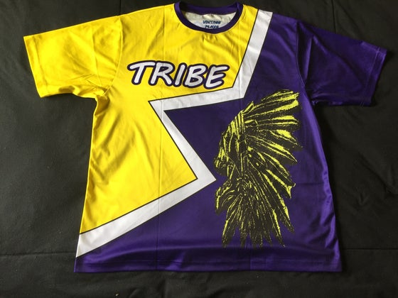 "Image of Tribe short sleeve soccer jersey ""GEAUXTIGERS"""