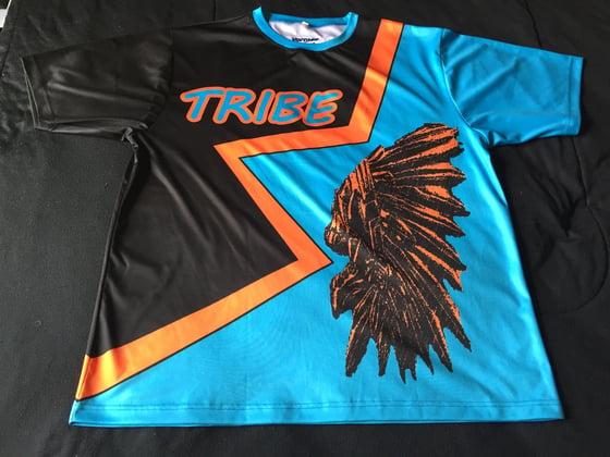 "Image of Tribe short sleeve soccer jersey ""MARINO"""