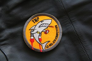 Image of Shark Competition Patch Orange