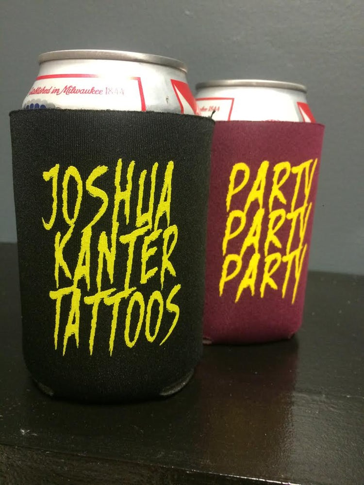 Image of Joshua Kanter Tattoos Can Cooler (2-Pack)