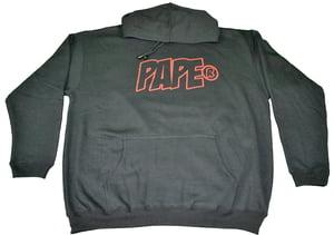 Image of Paperstack Apparel 'PAPE' Bred Hood (Varsity Red/Black) RRP$64.95