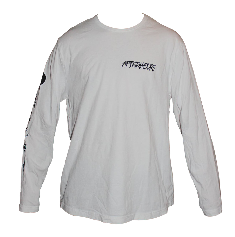 Image of Night white long sleeve