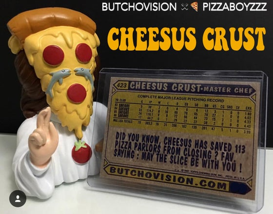 Image of CHEESUS CRUST VINYL FIGURES (very last 10 left)