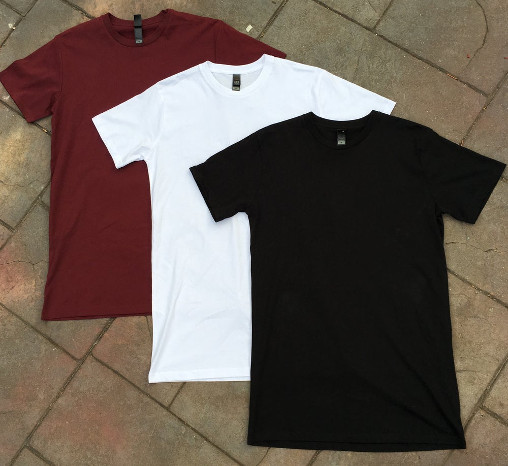 Image of 3 X AS Colour Tall Tees