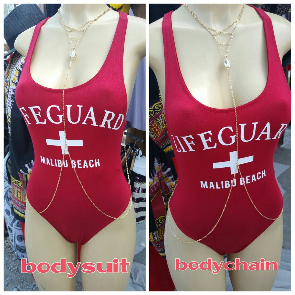 Image of lifeguard body suit