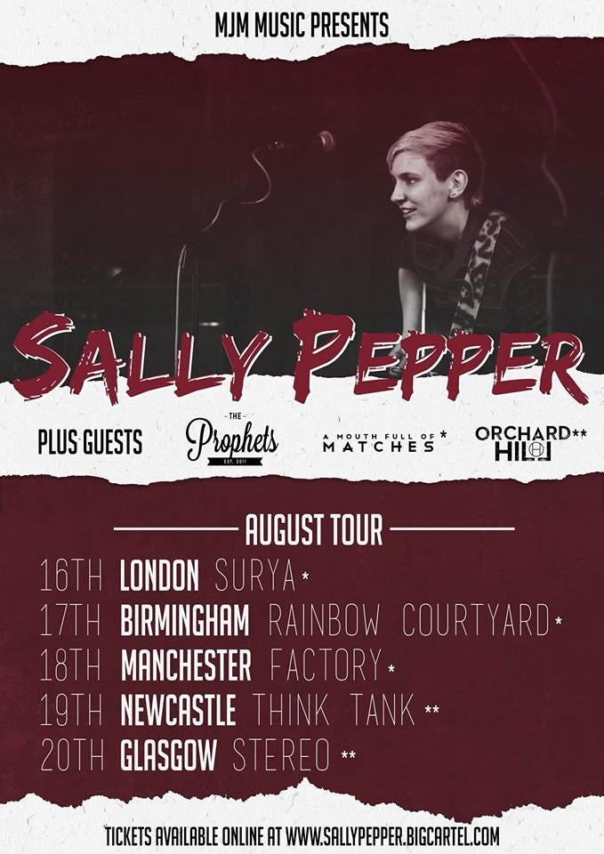 Image of Newcastle and Glasgow shows W/Sally Pepper!