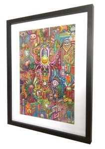 Image of 'Sharkheed' - Framed Original
