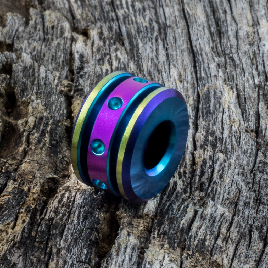 Image of Four Color Single Bead #1