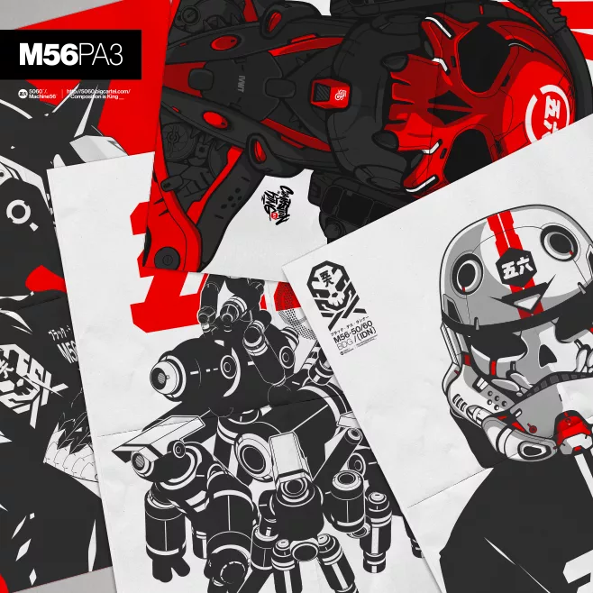 Image of M56 A3 PACK