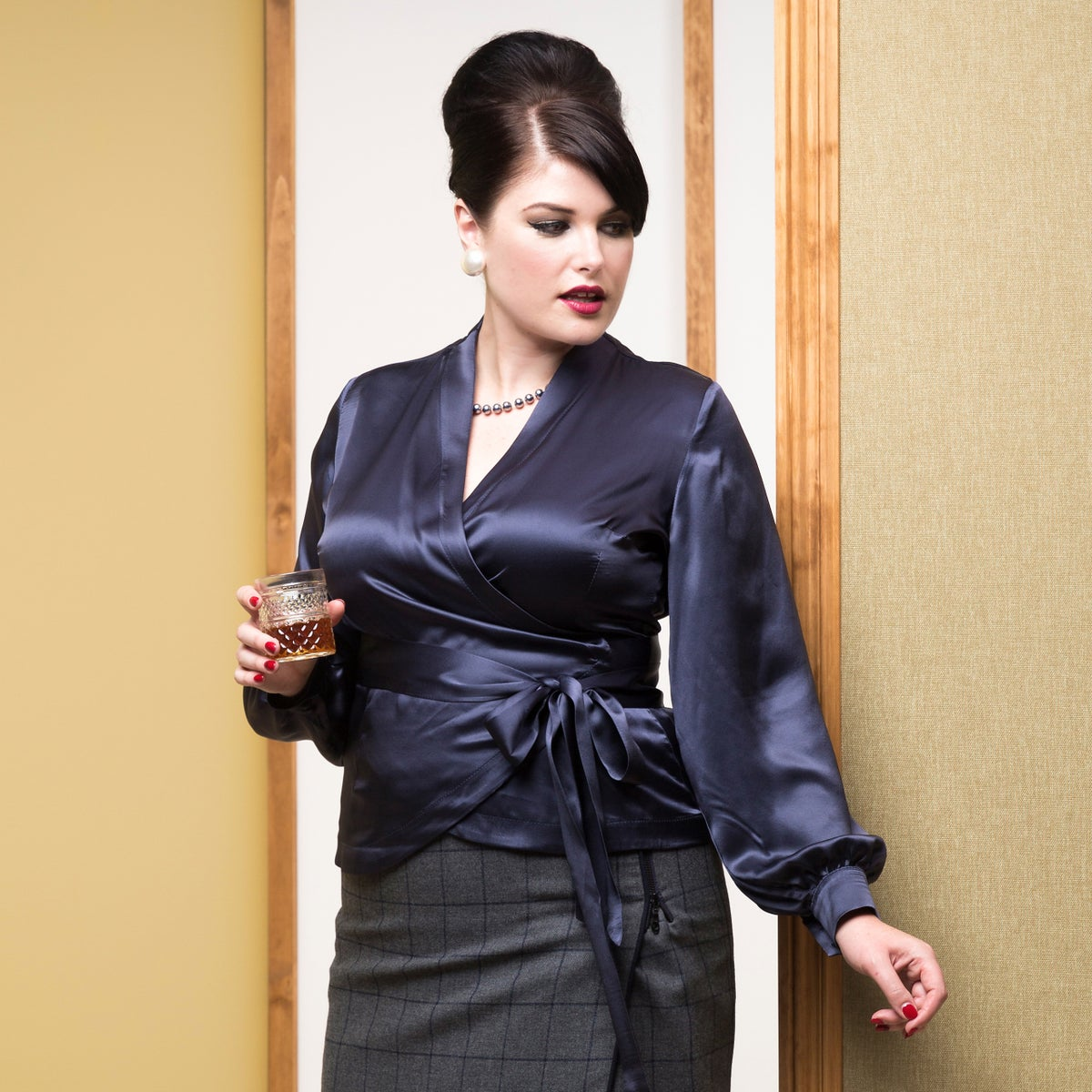Image of UPPER EAST SIDE SILK BLOUSE 1 (other options available)