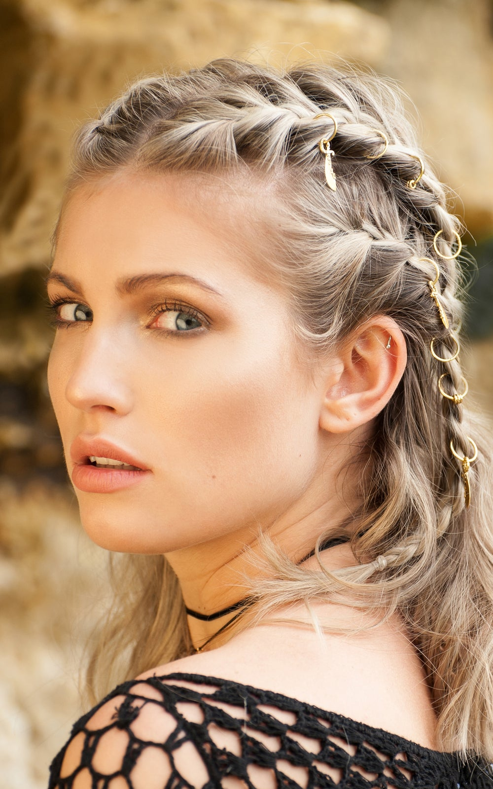 Image of Capricorn Hair Rings