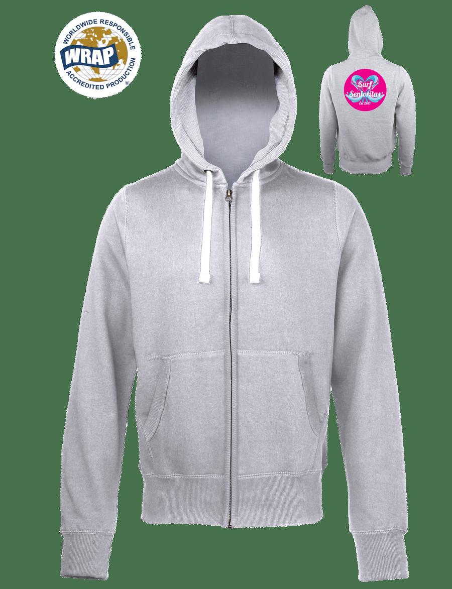 Image of Chunky zip hoodie