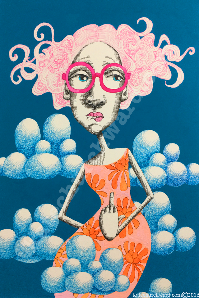 Image of Goddess #6 Virgin (print)