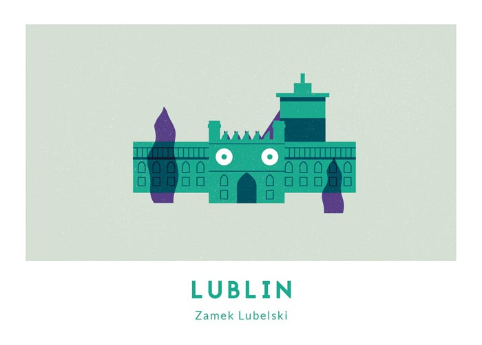 Image of Pocztówka - Zamek // Michał Bednarski