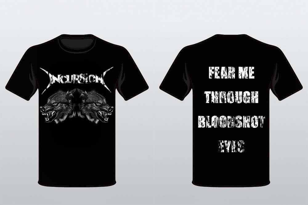 Image of Incursion - Wolves T-shirt