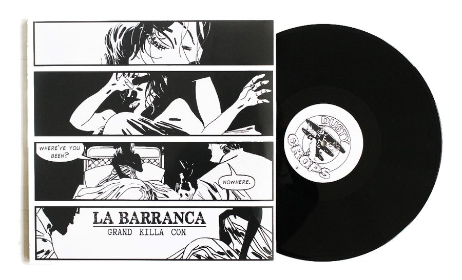 Image of Grand Killa Con - La Barranca (LP, Dusty Crops)