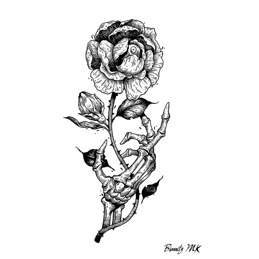 Image of Tee shirt tattoo Biarritz Ink// By Plot