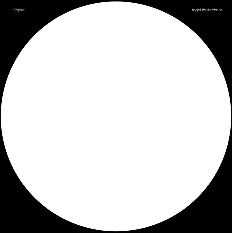 "Image of Regler ""Regel #6 (Techno), Regel #7 (Drone)"" LP"