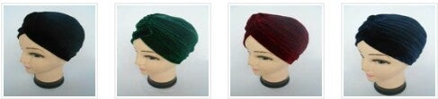Image of Premium Stretchy Unisex Velvet Turban