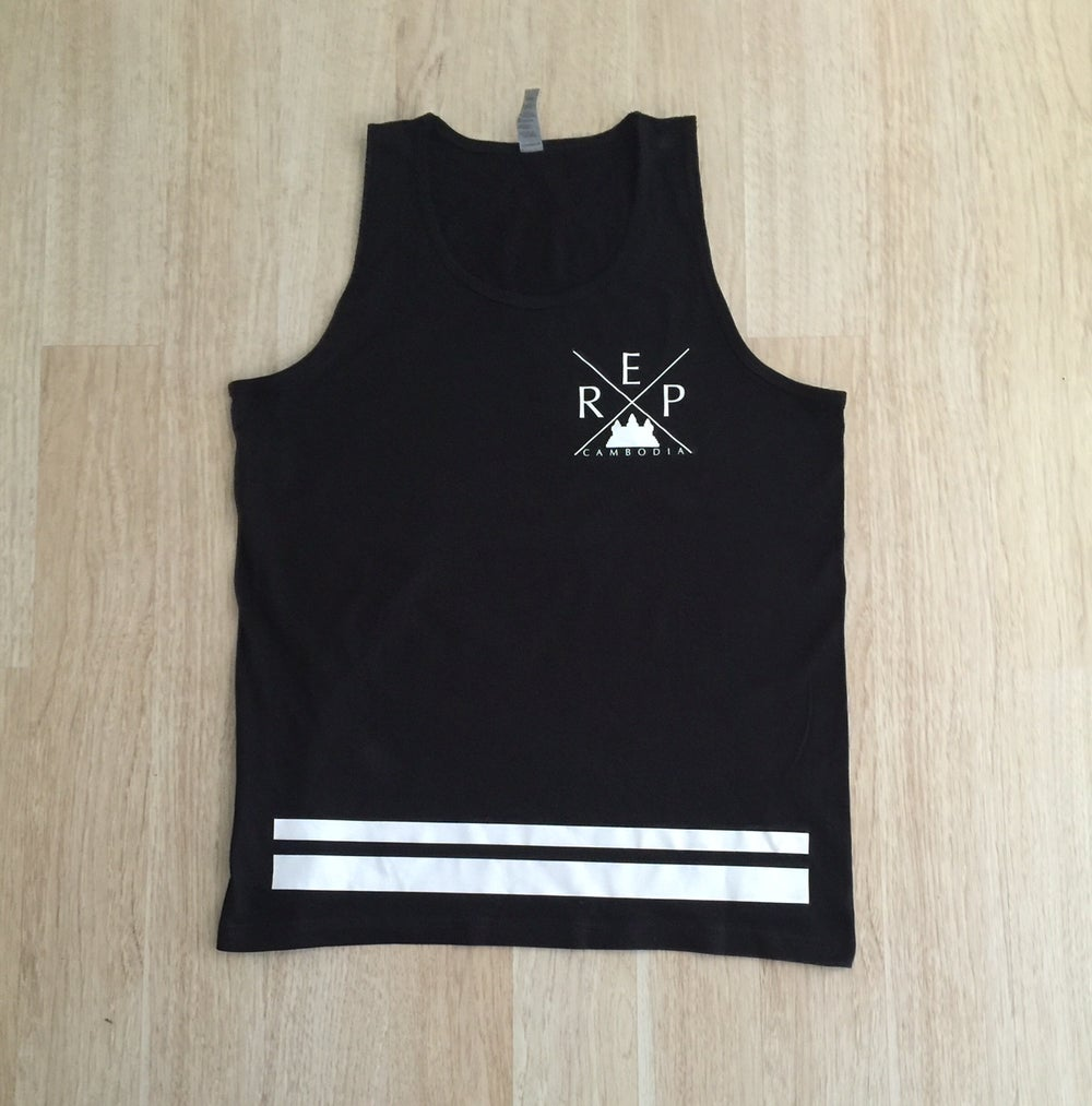 Image of X Double Stripe Tank Top