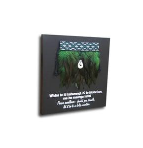 Image of Contemporary miniature Kākahu (Cloak) 3