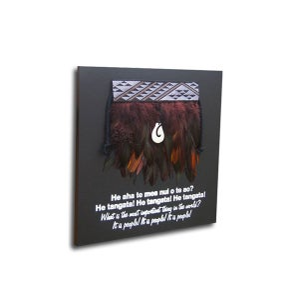 Image of Contemporary miniature Kākahu (Cloak) 4