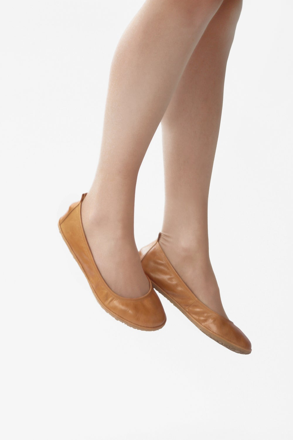 Image of Eko ballet flats in Glorious Wheat