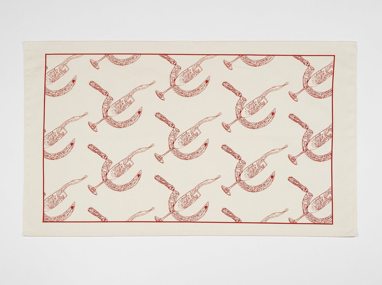 Image of Pio Abad Tea Towel