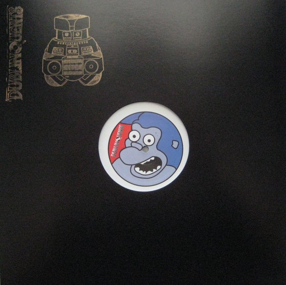 Image of Percussive P & Tim Reaper Vs.16 AJ & OSCI - Gorillas Choice Sampler - Black Vinyl