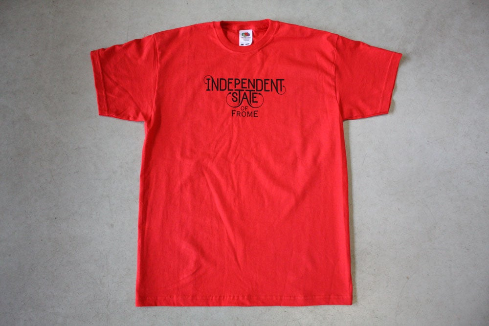 Image of Independent State of Frome T-Shirt (Black Print)