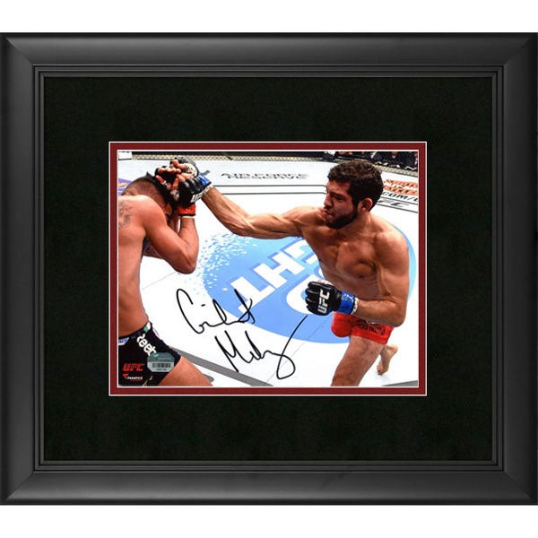 Image of Fanatics Authentic Gilbert Melendez UFC Framed Autographed 16 x 20 Throwing Punch Photograph