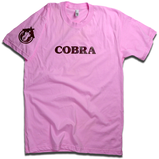 "Image of Emilia Dameshek ""Pink COBRA"" tee"