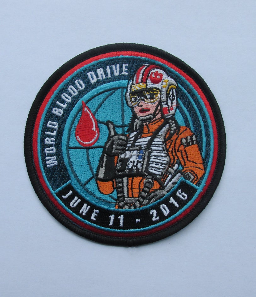 Image of World Blood Drive 2016 Female X-Wing Pilot