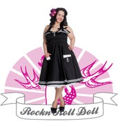 Image of Hellbunny - Motley 50s Dress (4097)