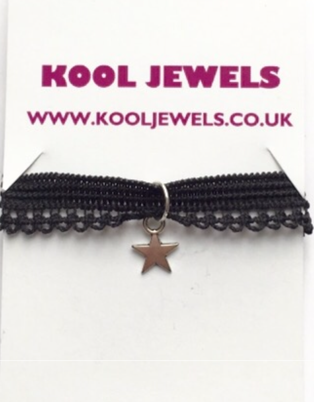 Image of Kool Jewels Mini Star charm Choker
