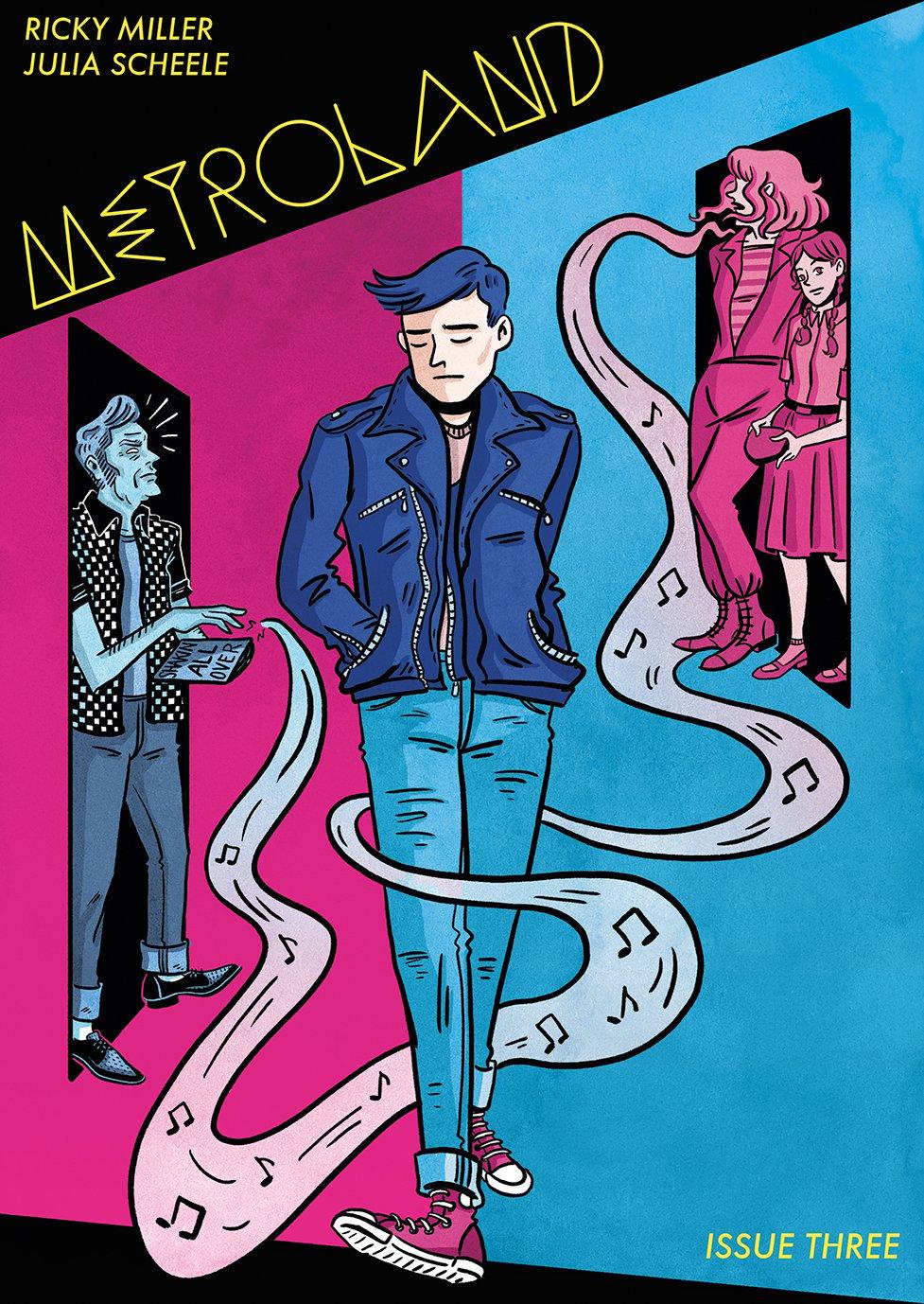 Metroland #3 by Ricky Miller & Jules Scheele