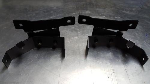 Image of Front Fog Light Brackets, Civic Hatchback 3dr 90-91  *(Complete SET)*
