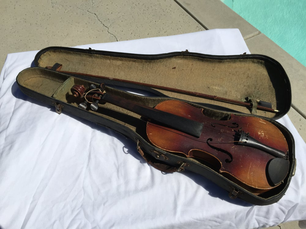 Image of Heinrich Goetz,Markneukirchen 4/4 Violin Reproduction of Nicolaus Amatius Circa 1855-1890 Germany