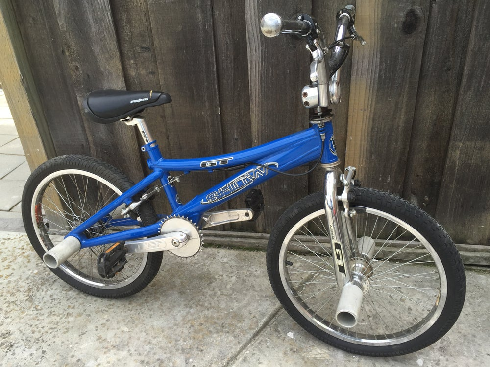 "Image of Gt Show Aluminum Flatland Freestyle 20"" BMX Bike"
