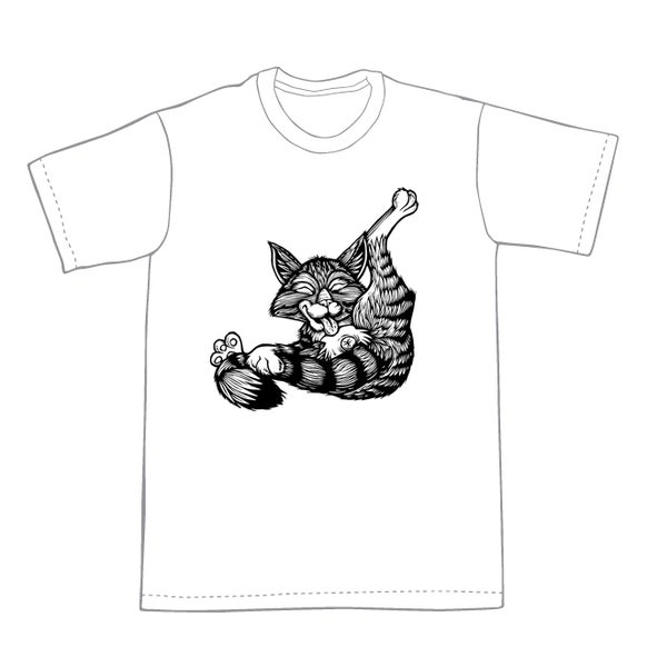 Image of Buttlicker Cat T-shirt **FREE SHIPPING**
