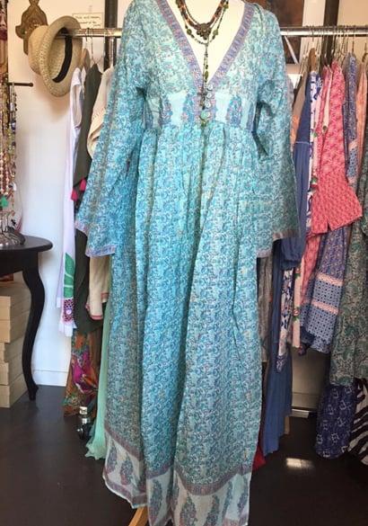 Image of JADE long hippie dress