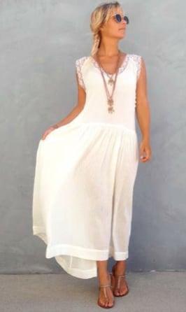 Image of MARGOT - romantic hippie dress
