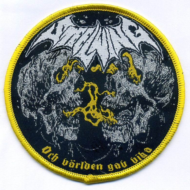 Image of ROUND SKULL PATCH