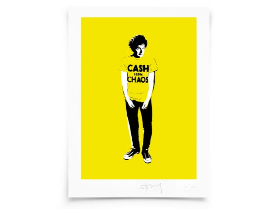 Image of Malcolm McLaren - Screen print