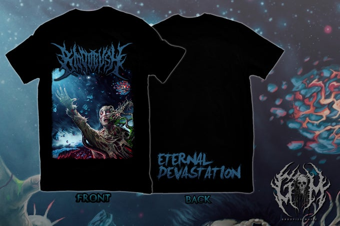 Image of Bloodgush - Eernal Devastation Shirt