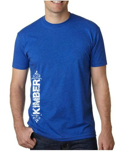 "Image of Unisex ""Kimber"" Tee - Available in Blue and Gray"