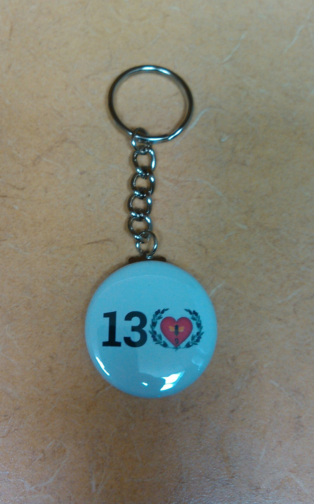 Image of TLC 13 Love Community Logo Keychain